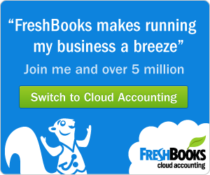 Free 30 Day Trial on FreshBooks